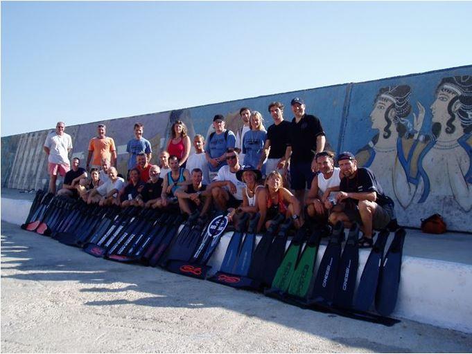 Teilnehmer der TL-Prüfung ins Kas 2006